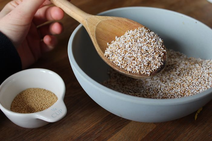 popped amaranth recipe